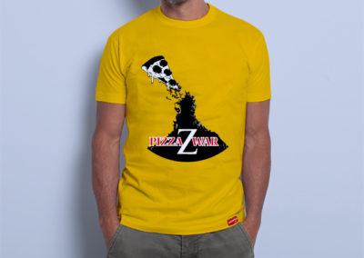 Camiseta PizzaZWar