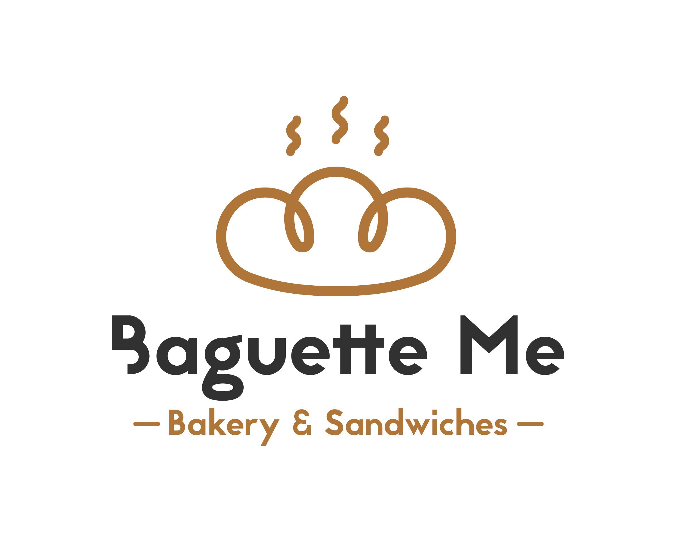 Diseño del logo de Baguette Me